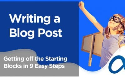 Writing a Blog Post – Getting off the Starting Blocks in 9 Easy Steps