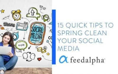 15 Tips To Spring Clean Your Social Media