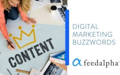 Digital Marketing Buzzwords