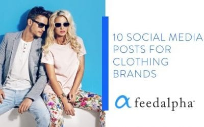 10 Social Media Posts For Clothing Brands