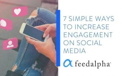 7 Simple Ways To Increase Engagement On Social Media