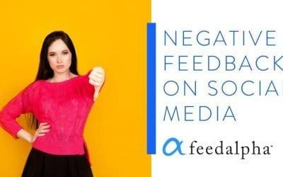 Negative Feedback On Social Media