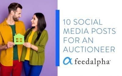 10 Social Media Posts For An Auctioneer