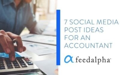 7 Social Media Post Ideas For An Accountant