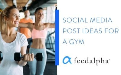 7 Social Media Post Ideas For A Gym