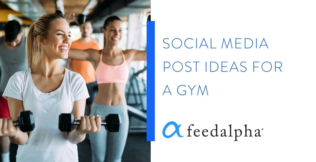 social media post ideas for a gym